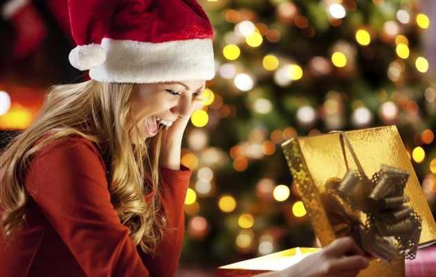 Один из вариантов списка подарков девушке на Новый год
