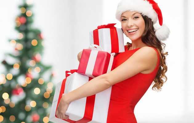 100 идей подарков девушке на Новый год