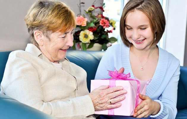 Подарок свекрови на день рождения