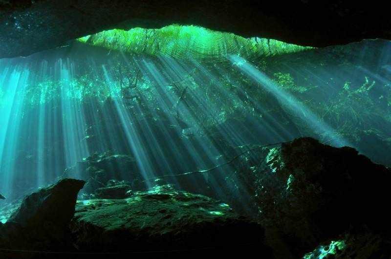 В Ординской пещере много интересных мест