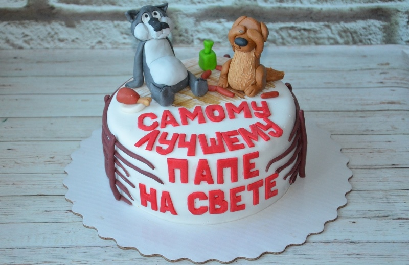 Сладкий презент в виде торта