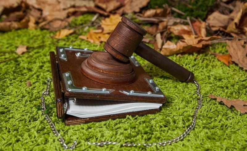 Записная книжка с молотком Мое слово - закон