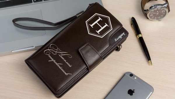 именной портмоне-клатч