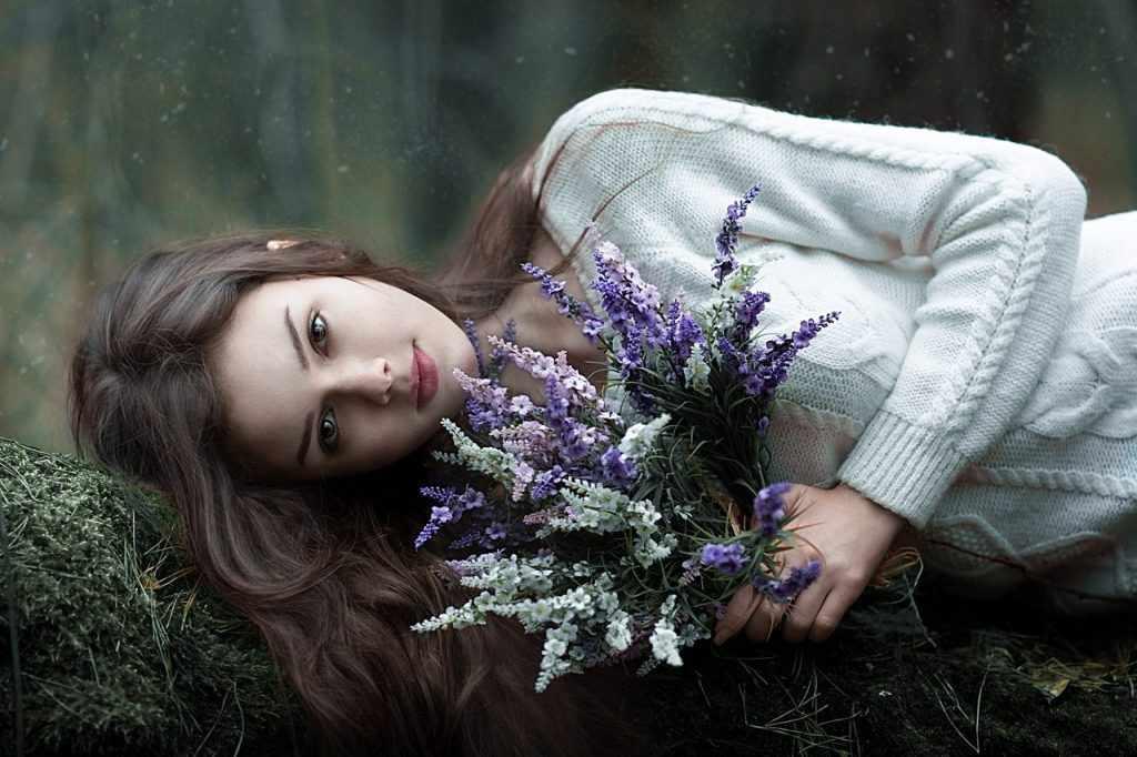 лесные цветы