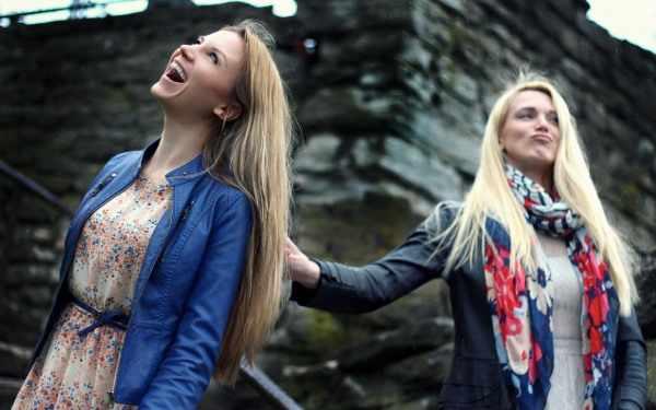Фотосессия с сестрой