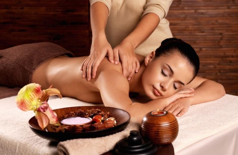 Сеансы расслабляющих массажей