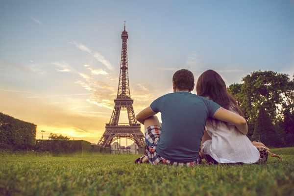 Париж путешествие