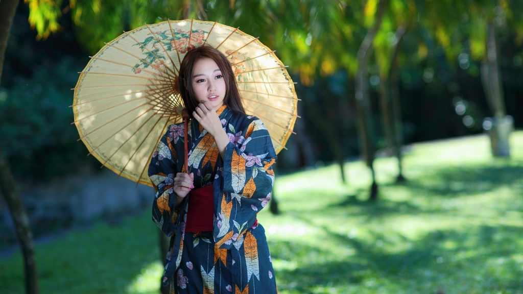 ретро зонтик