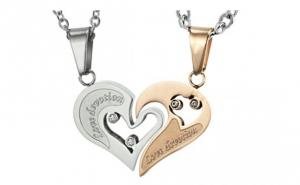Классика всех подарков для влюбленных - это половинки сердца