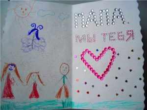 Самые дорогие сердцу подарки сделаны ручками маленькой дочери