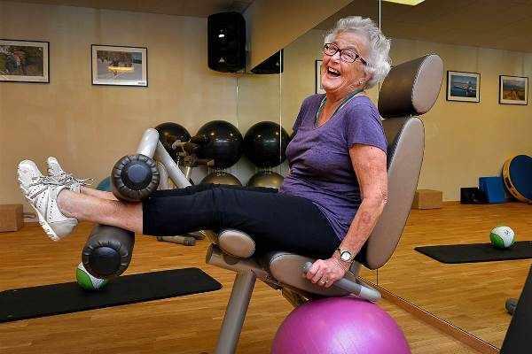 Тренажер для бабушки