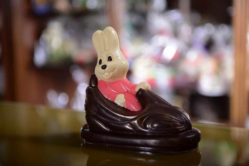 Шоколадный заяц на заказ
