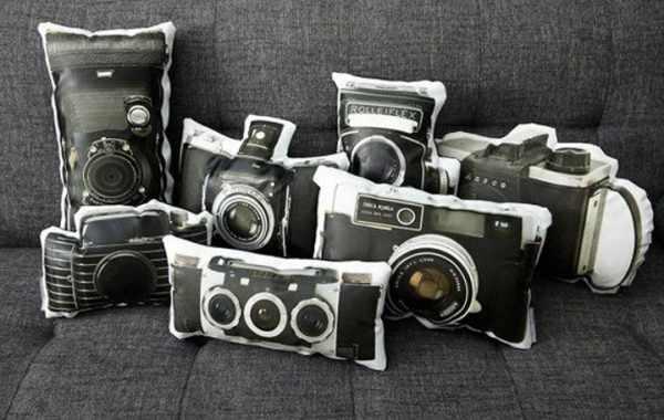подушки – фотоаппараты
