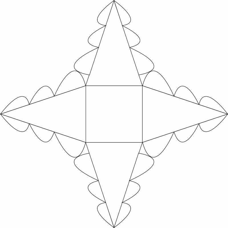 Схема «Елочки»