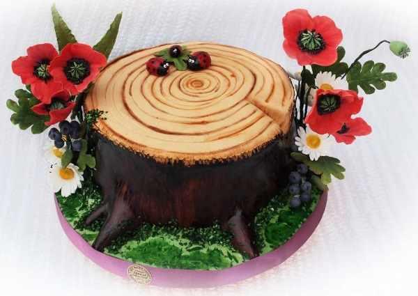 Торт на 5 лет свадьбы