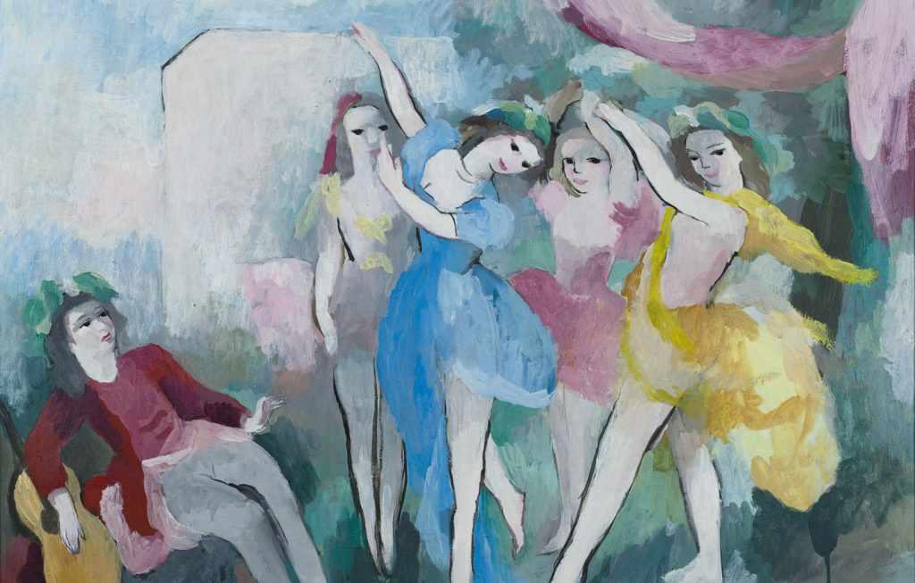 картина танцы