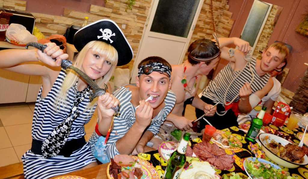 вечеринка пиратов