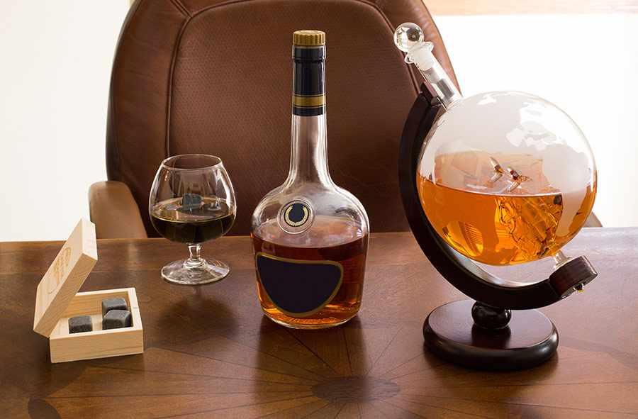 глобус для спиртного