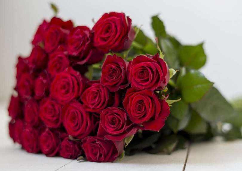Количество цветов в букете, может быть разным