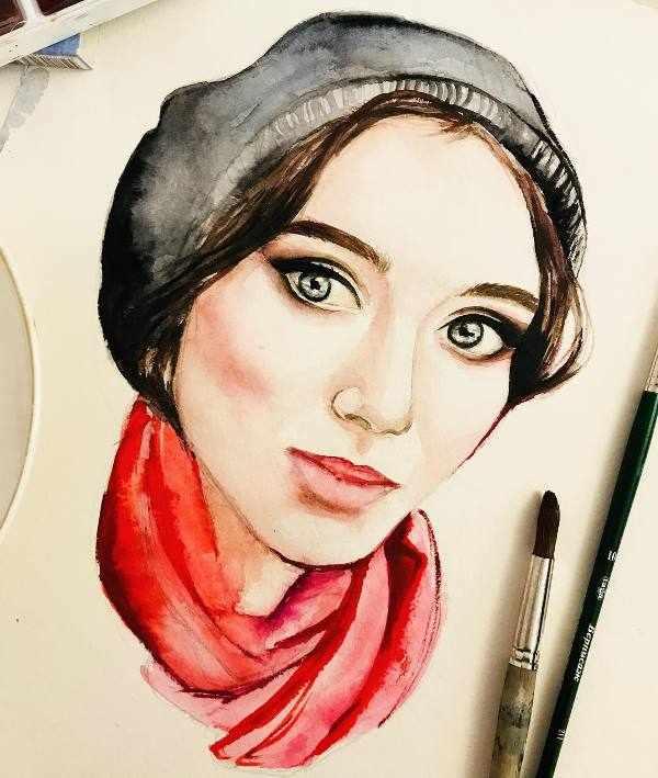 Портрет сестры