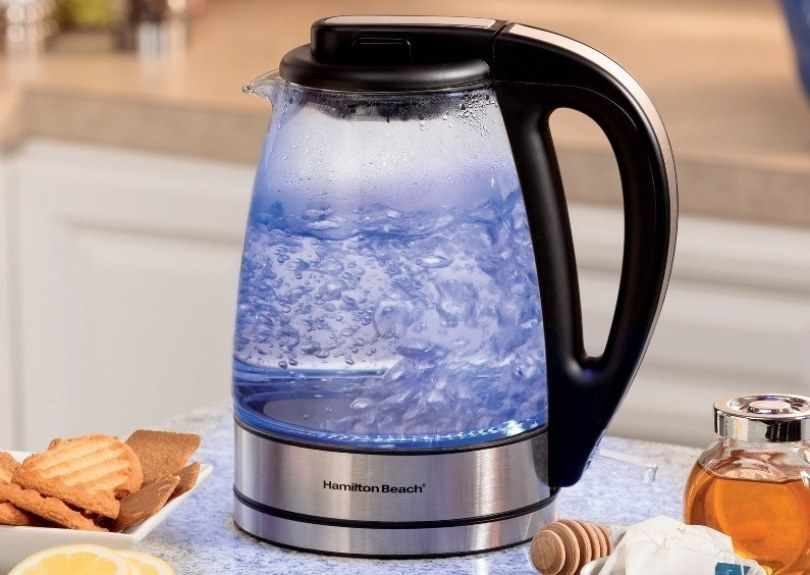 электрический чайник с подсветкой