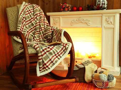 Кресло-качалка для уютного отдыха