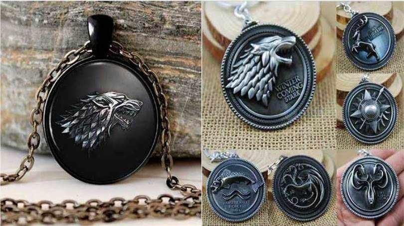 медальон игра престолов