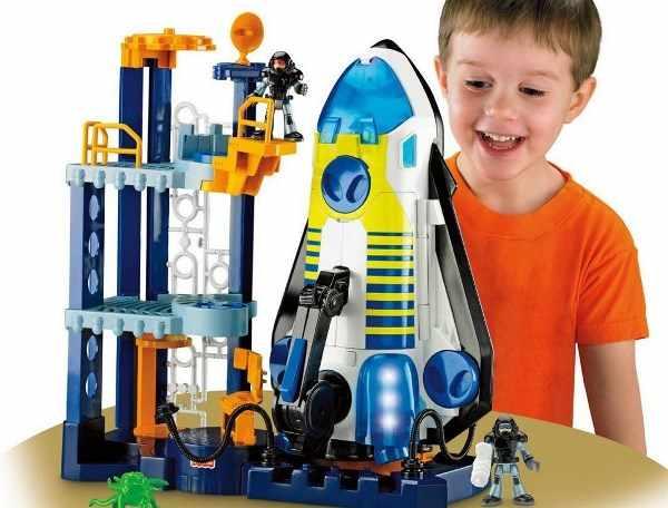 Игрушка - ракетная станция