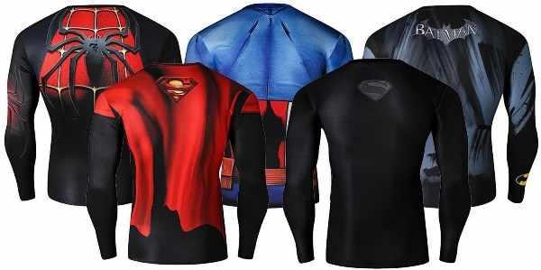 футболки супергероев
