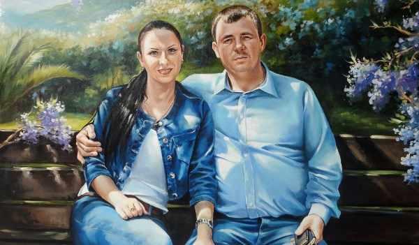 портрет супругов