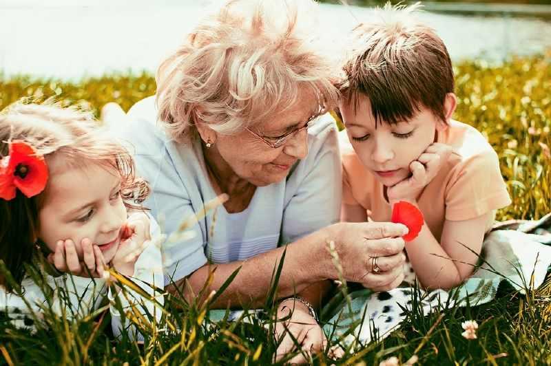 День на фотосессии с внуками