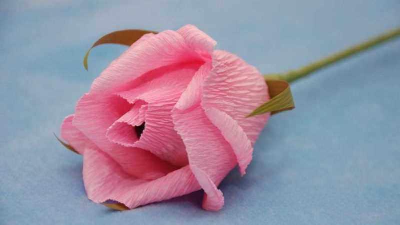 Роза с конфетами