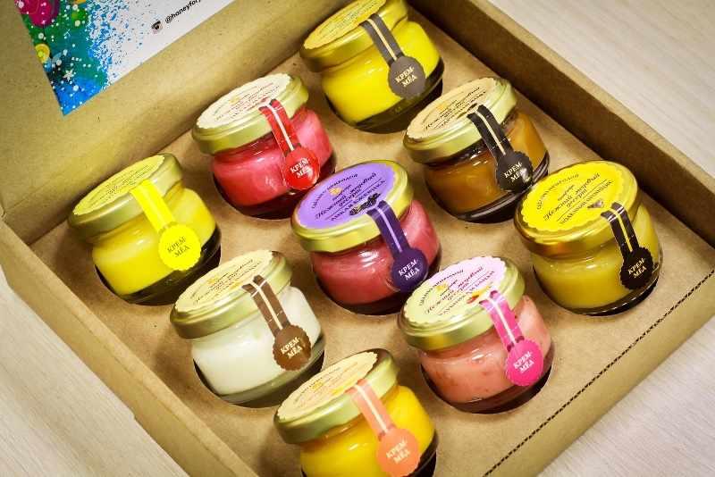 Оригинальный и ароматный набор меда
