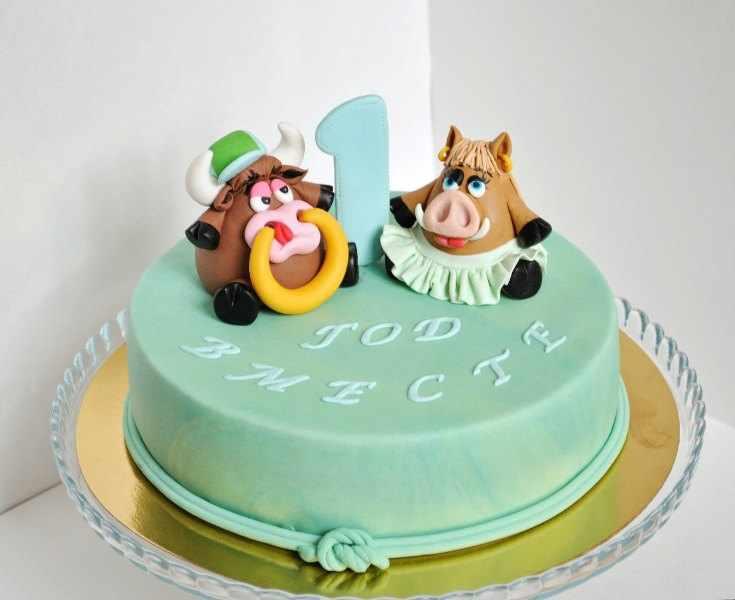 на годовщину отношений торт