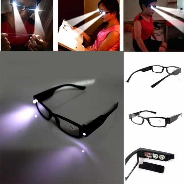 очки с фонариком