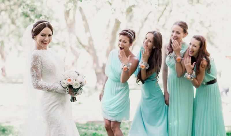 Танец ч подружками невесты