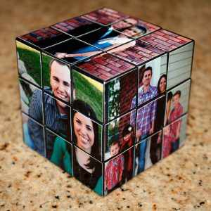Красивый, уникальный и интеллектуальный подарок - кубик-рубика из фотографий