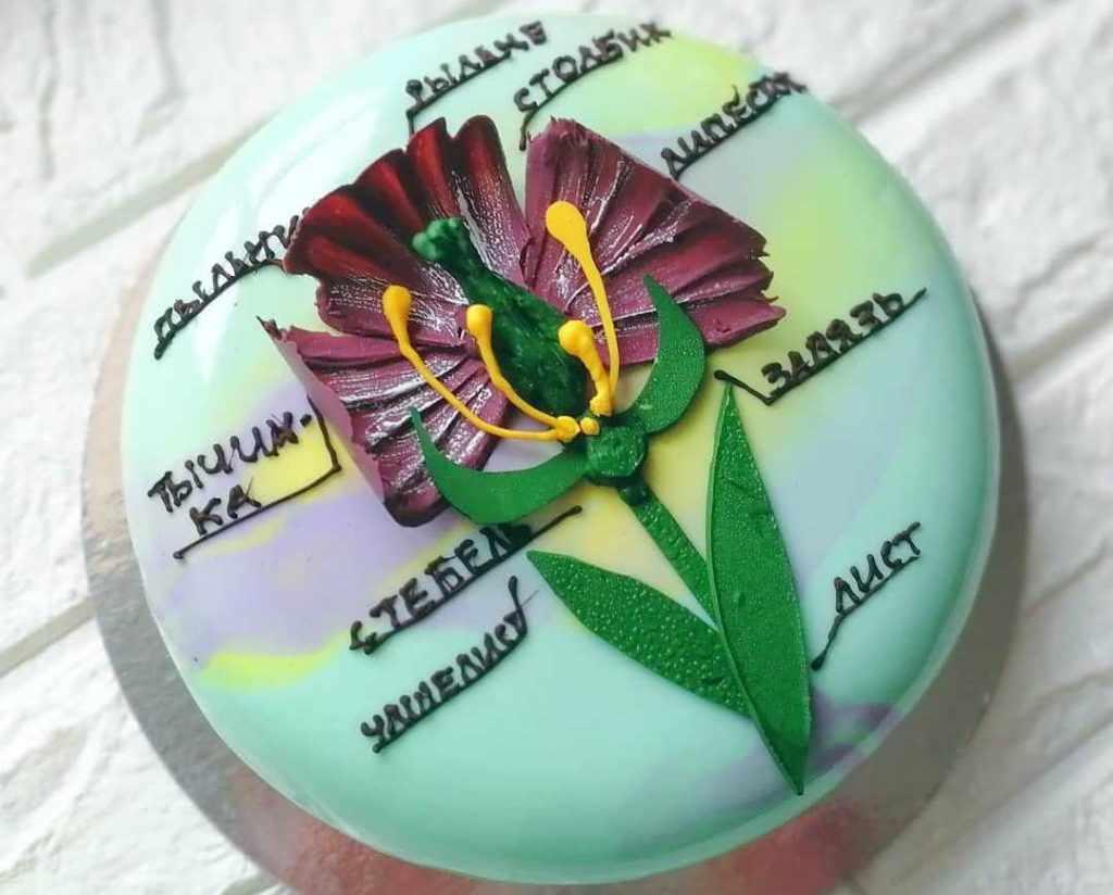 Торт для учителя