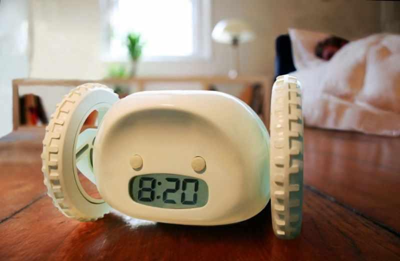 Убегающий будильник