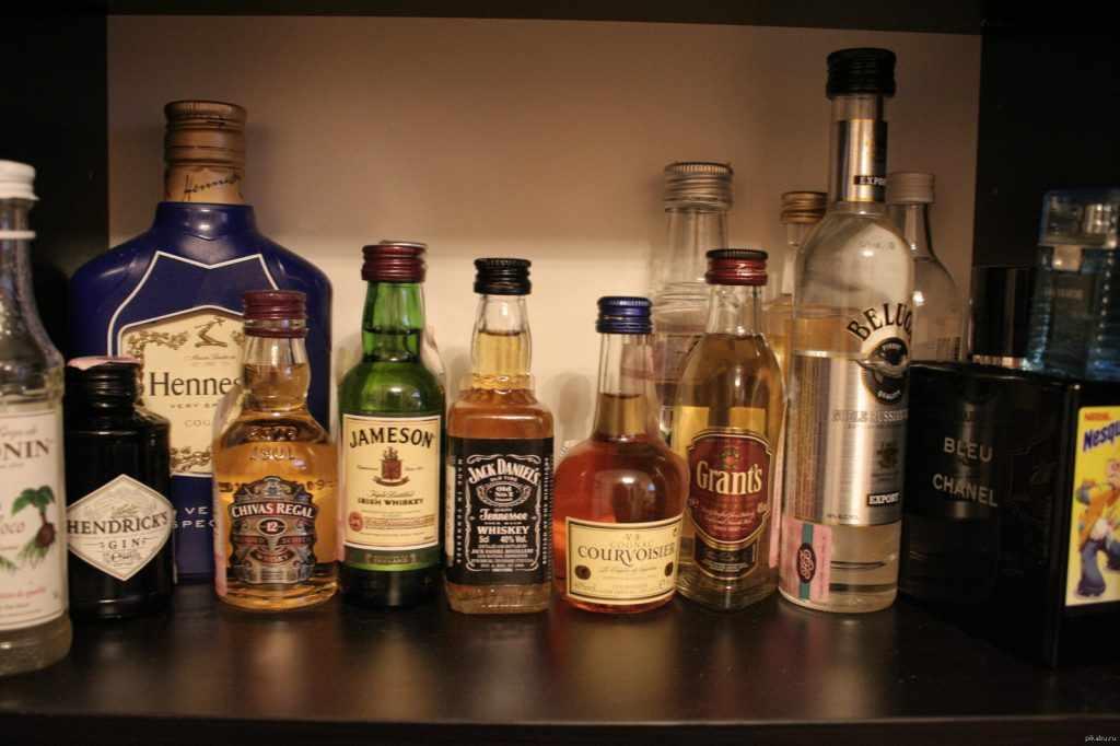 коллекция алкоголя