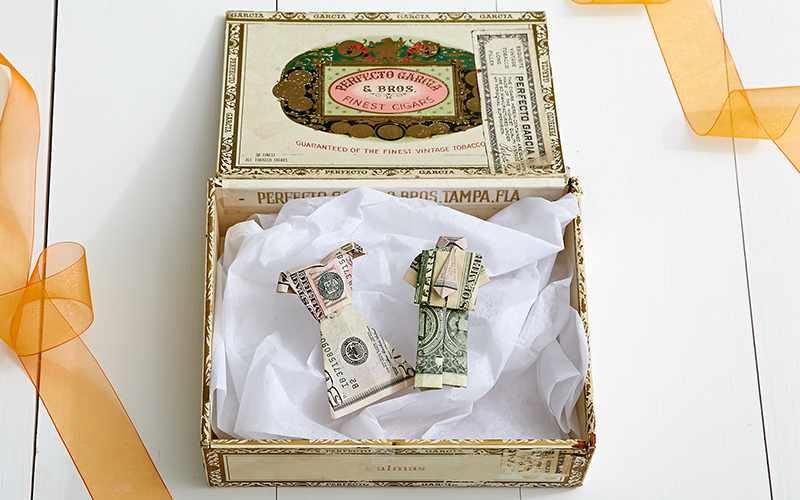 денежный оригинальный презент