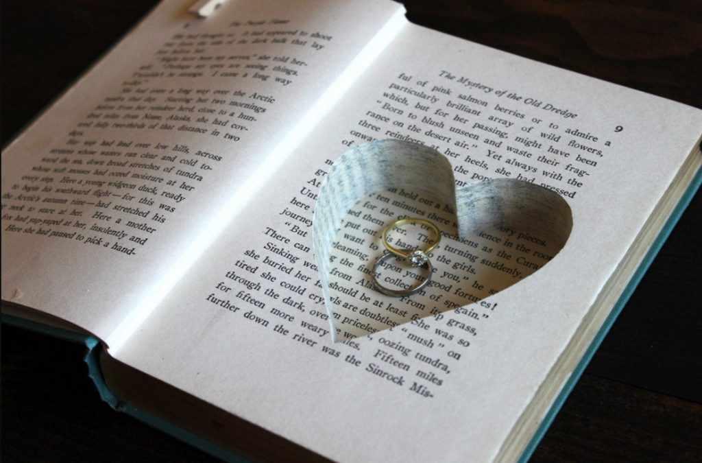 Колечко в книжке