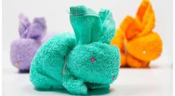 полотенце заяц