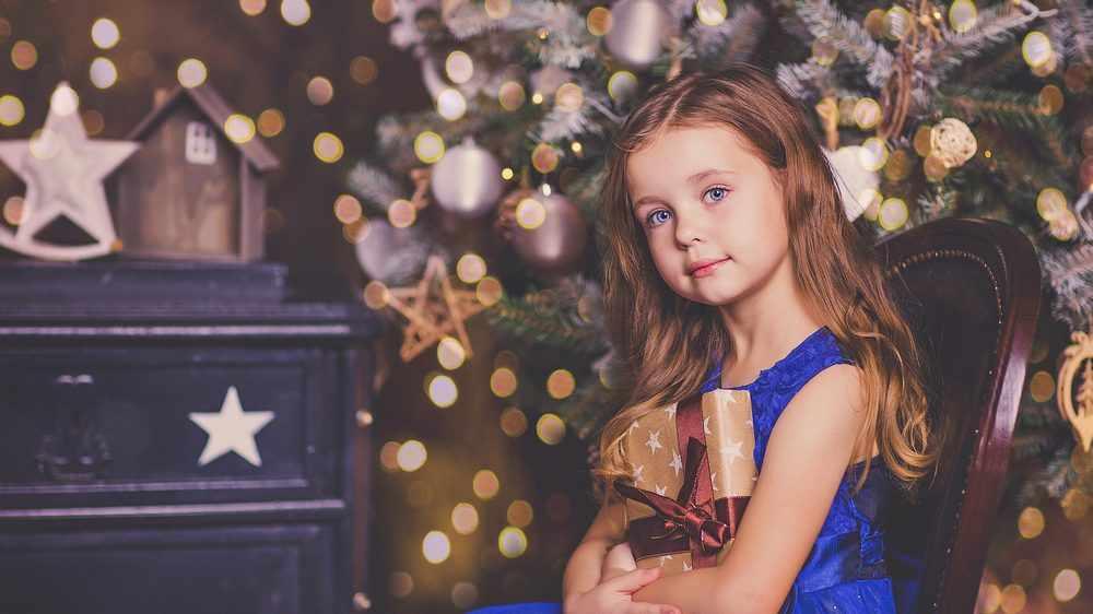 Подарок девочке на Новый год 2021