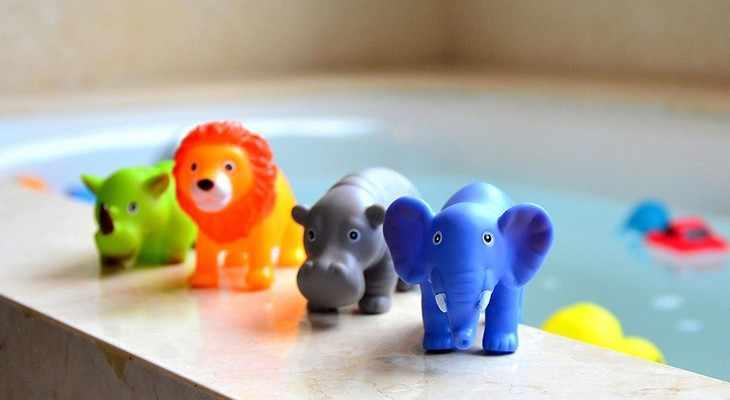 Набор резиновых игрушек для купания
