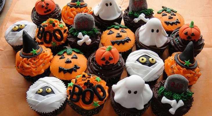 Хэллоуинские угощения