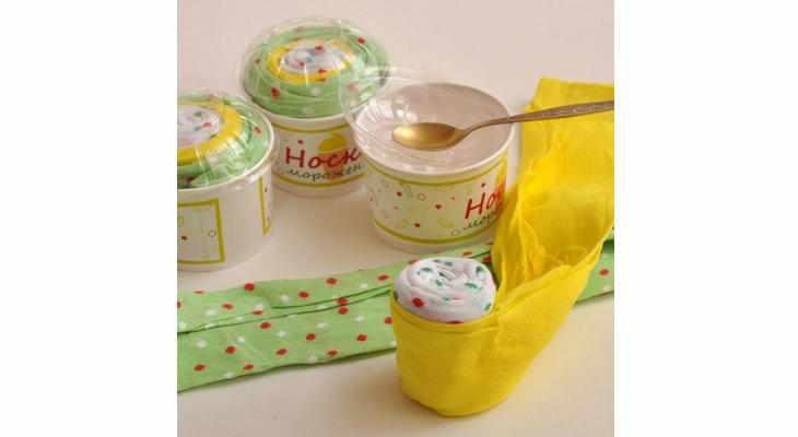 Носки-мороженое