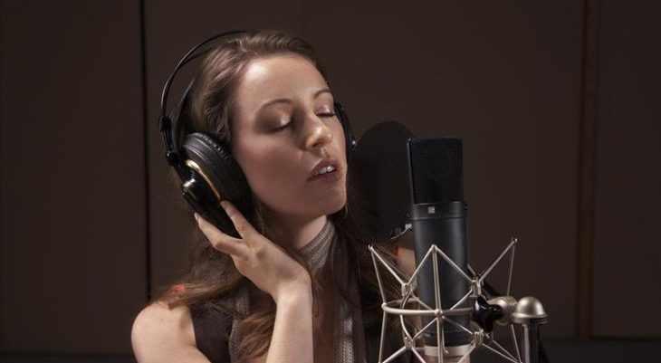 Запись сингла в студии