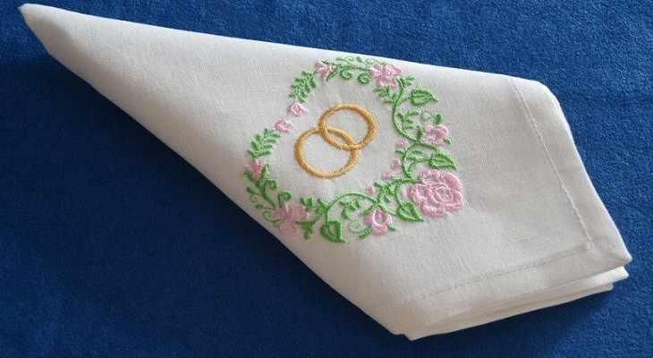 салфетки с ручной вышивкой