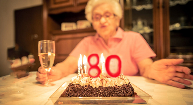 Идеи подарка бабушке на 80-летний юбилей
